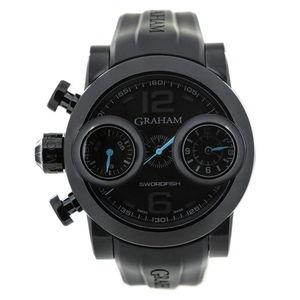 Graham Armbanduhr in schwarz